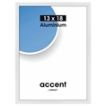 Nielsen Photo Frame 53239 Accent Glossy White 13x18 cm