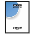 Nielsen Photo Frame 53426 Accent Frosted Black 18x24 cm