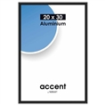 Nielsen Photo Frame 53526 Accent Frosted Black 20x30 cm