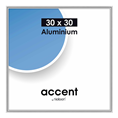 Nielsen Photo Frame 54123 Accent Glossy Silver 30x30 cm