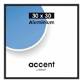 Nielsen Photo Frame 54126 Accent Frosted Black 30x30 cm
