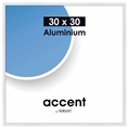 Nielsen Photo Frame 54139 Accent Glossy White 30x30 cm