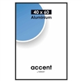 Nielsen Photo Frame 55126 Accent Frosted Black 40x60 cm