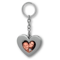 Zep Photo Keychain Heart KH750 35x45 mm