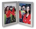 Zep Double Photo Frame 8702V2 Silver 2x 13x18 cm