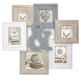 Zep Wooden Collage Photo Frame TY1453 Chamboard for 6 Photos