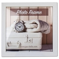 Zep Wooden Photo Frame V21303 Nelson 3 White 30x30 cm