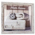 Zep Wooden Photo Frame V21306 Nelson 6 White Wash 30x30 cm