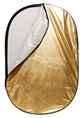 Linkstar Reflector 2 in 1 R-90120GS Gold/Silver 90x120 cm