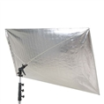 Falcon Eyes Reflector RR-5684SB Silver/Black 140x210 cm