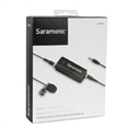 Saramonic Dual Audio Mixer LavMic with Lavalier Microphone for DSLR/GoPro/Smartphones
