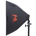 Falcon Eyes Foldable Softbox FASB-5050 50x50 cm for Speedlite Flash Gun