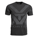 f Vortex Charcoal Heather Oversize Logo T-shirt Size XXL