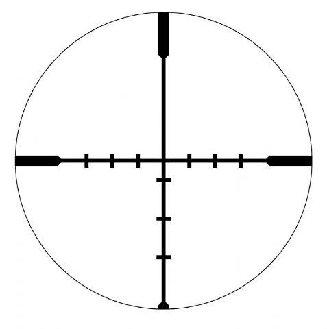 Vortex Crossfire Ii 4 12x44 Rifle Scope Dead Hold Bdc