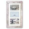 Zep Wooden Collage Photo Frame V23106 Nelson 6 3Q White Wash for 3 Photos