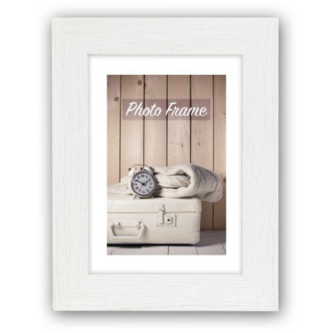 Zep Wooden Photo Frame V21463 Nelson 3 White 10x15 cm
