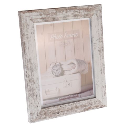 Zep Wooden Photo Frame V21686 Nelson 6 White Wash 15x20 cm