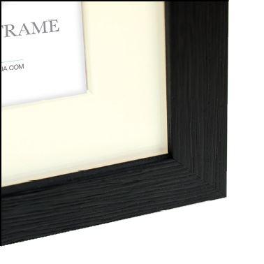 Zep Wooden Photo Frame V32465 Regent 5 Black 7x10 / 10x15 cm